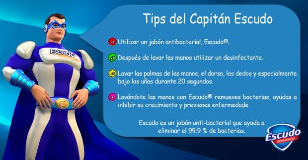 Tips Capitán Escudo