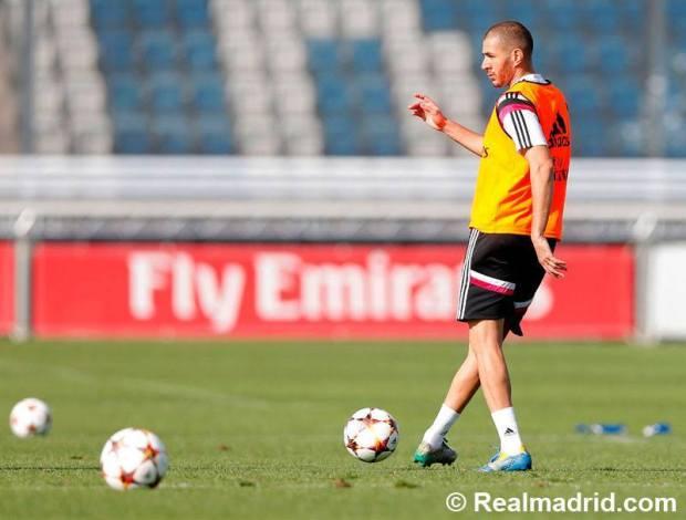 Karim Benzema apunta para titular en el clásico de este fin de semana