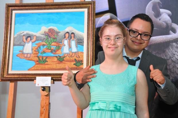 """""""Fundación de Tenochtitlan"""" por Andrea Simó Flores de la Vega y Sandrac Cano"""
