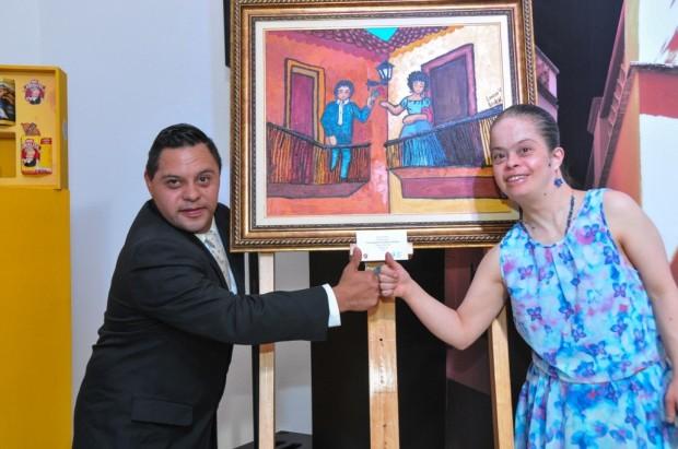 """""""El Callejón del Beso"""" por Lorena Veles y Erik Navarro"""